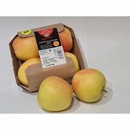 Cora pomme golden du Limousin face rosée barquette de 4 fruits