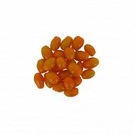 Tomate cerise allongée orange