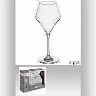 Lot de 3 verres à eau clarillo 38 cl