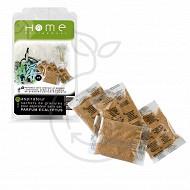 Home Equipement désodorisant granule  4x5g , parfum eucalyptus 95042