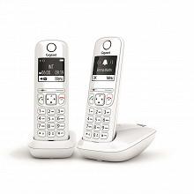 Gigaset Téléphone sans fil dect AS690 DUO BLANC