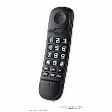 Téléphone filaire monobloc L210 noir
