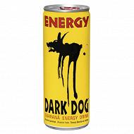 Dark Dog regular avec taurine boite 25cl