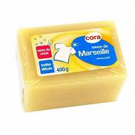 Cora savon de Marseille glycérine 400g