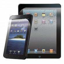 """T'nb 2 Protections d'écran universelles pour tablette de 7 à 12"""" PRECTAB1"""