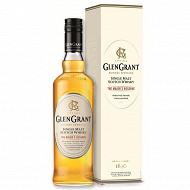 Glen grant single malt scotch whisky major's reserve étui 70 cl 40% vol