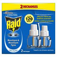 Raid électrique liquide rechargeable 120 nuits