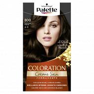 Palette Coloration châtain n°800