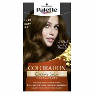 Palette Coloration châtain clair n°600