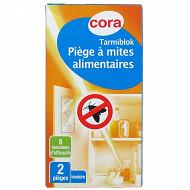 Cora pièges antimites alimentaires x2