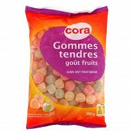 Cora gommes tendres goût fruits 300g