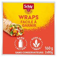 Schar wraps sans gluten 160g