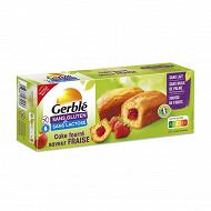 Gerblé cake fourré fraise sans gluten 210g
