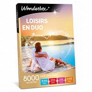 Coffret Wonderbox : loisirs en duo 3900 activités pour 2 personnes
