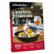 Coffret Wonderbox : Bistrots & saveurs