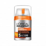 Men Expert Hydra energetic soin anti-fatigue flacon pompe 50ml