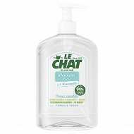 Le chat gel lavant mains douceur pure flacon 500ml