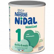 Nestlé Nidal plus 1er age poudre 800g dès la naissance jusqu'à 6 mois