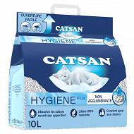 Catsan hygiène plus litière minérale absorbante 10L