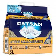 Catsan litière minérale agglomérante pour chat 5l