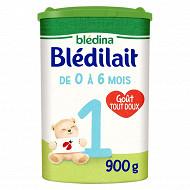Bledilait lait poudre 1er âge de 0 à 6 mois 900g