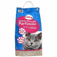 Cora litière pour chats parfumée et antibactérienne 8l