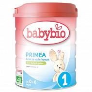 Babybio lait poudre 1er âge primea o à 6 mois 800g