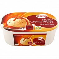Cora crème brulée bac 900ml - 514g