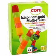 Cora kido bâtonnets multi-fruits 240ml - 320g