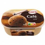 Cora crème glacée café bac 1l - 518g
