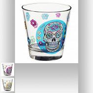 Gobelet bas mexico skull 25 cl