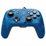 Manette switch psp camo bleu