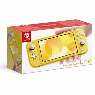Console switch lite jaune