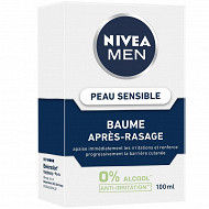 Nivéa men baume après-rasage peau sensible 100ml