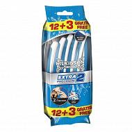 Wilkinson Rasoirs jetables Extra 2 Precision x12