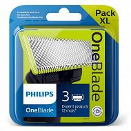 Pack de 3 lames Oneblade Philips QP230/50