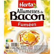 Herta allumettes de bacon fumées 2x100g