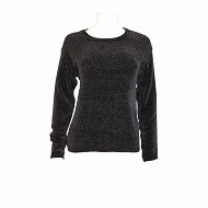 Pull manches longues BLACK SOLID T46/48