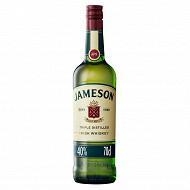 Jameson irish whiskey 70cl 40%vol