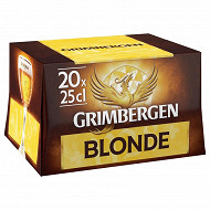 Grimbergen blonde 20x25cl 6.7%vol