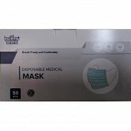 Masques chirurgicaux boîte de 50