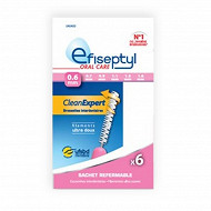 Efiseptyl brossettes clean expert 0.6mm