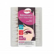 Cora bâtonnets cosmétiques tige papier x70