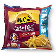 McCain frites just au four classique 1.625kg