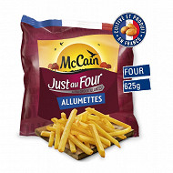 McCain frites just au four allumettes 625g