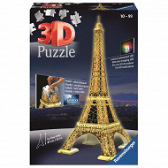 Ravensburger 3D puzzles les building tour eiffel night edition