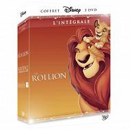 Coffret intégrale 3 dvd le roi lion