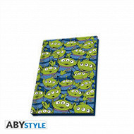 Notebook a6 toy story aliens
