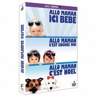 Coffret dvd allo maman trilogie