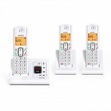 Alcatel Téléphone sans fil trio avec répondeur F530 VOICE TRIO GREY
